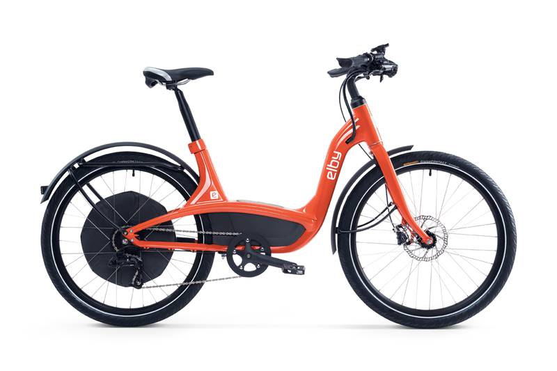 Elby eBike in Orange