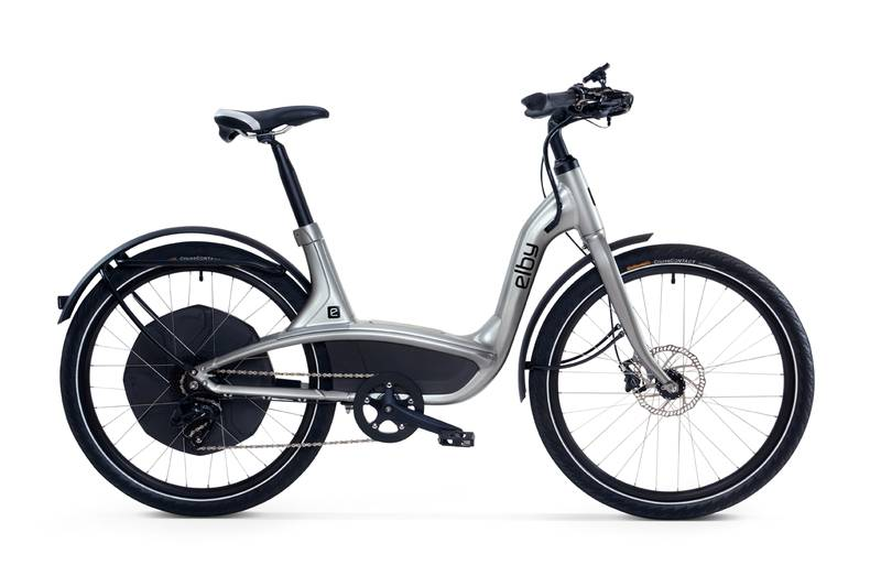 Elby eBike in silber